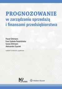 Prognozowanie w zarządzaniu sprzedażą - okładka książki