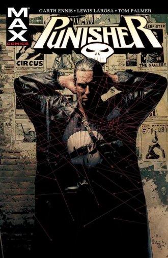Punisher Max. Tom 1 - okładka książki