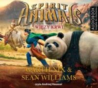 Spirit Animals 3. Więzy krwi - pudełko audiobooku
