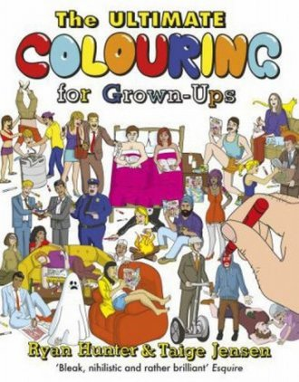 The Ultimate Colouring for Grown-Ups - okładka książki
