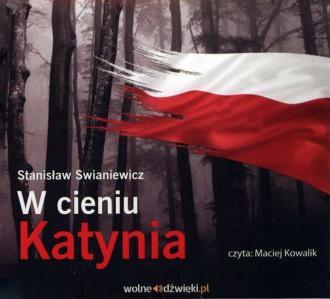 W cieniu Katynia - pudełko audiobooku