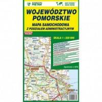 Województwo pomorskie. Mapa samochodowa 1:220 000 - okładka książki