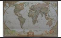 World Executive National Geographic Świat mapa ścienna - okładka książki