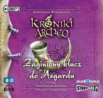 Zaginiony klucz do Asgardu cz. - pudełko audiobooku
