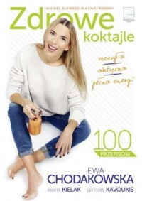 Zdrowe koktajle - okładka książki