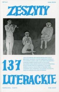 Zeszyty Literackie 137/1/2017 - okładka książki