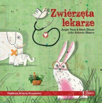 Zwierzęta lekarze - okładka książki