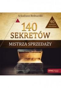 140 sekretów Mistrza Sprzedaży - okładka książki