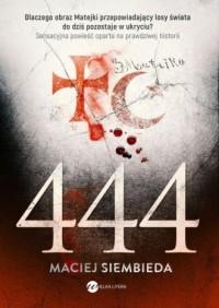 444 - Maciej Siembieda - okładka książki
