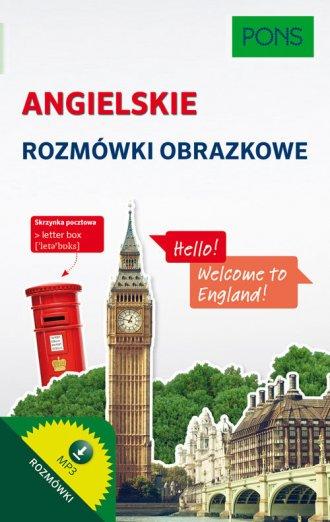 Angielskie rozmówki obrazkowe - okładka podręcznika