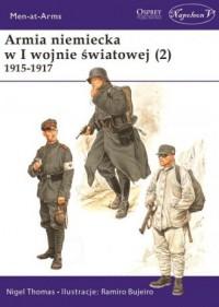 Armia niemiecka w I wojnie światowej (2) 1915-1917 - okładka książki