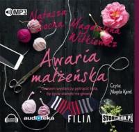 Awaria małżeńska - pudełko audiobooku