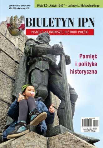 Biuletyn IPN nr 4 (137) / 2017 - okładka książki