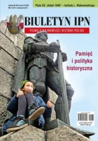 Biuletyn IPN nr 4 (137) / 2017 (+ CD) - okładka książki