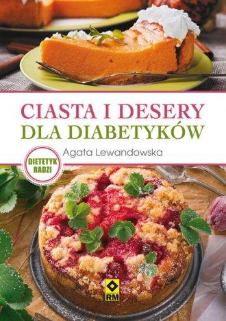 Ciasta i desery dla diabetyków - okładka książki