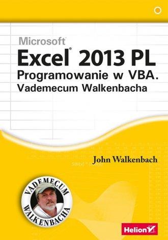 Excel 2013 PL. Programowanie w - okładka książki