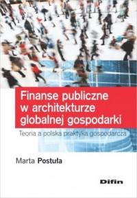 Finanse publiczne w architekturze - okładka książki