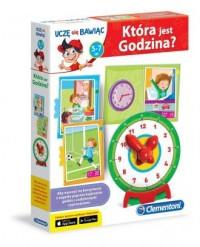 Gra. Która jest godzina - Wydawnictwo - zdjęcie zabawki, gry