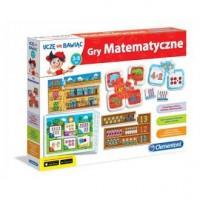 Gra matematyczne 60593 - Wydawnictwo - zdjęcie zabawki, gry