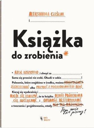 Książka do zrobienia - okładka książki