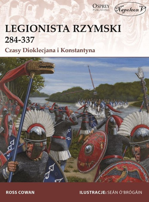 Legionista rzymski 284-337 Czasy - okładka książki
