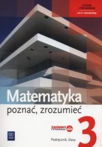 Matematyka. Poznać zrozumieć 3. - okładka podręcznika
