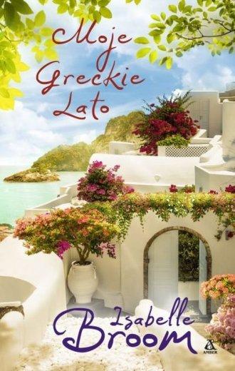 Moje greckie lato - okładka książki