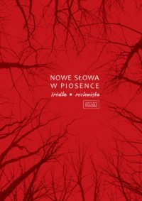 Nowe słowa w piosence - Wydawnictwo - okładka książki