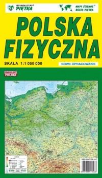 Polska fizyczna 1:1 050 000 - okładka książki