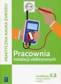 Pracownia instalacji elektrycznych. - okładka podręcznika