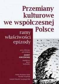 Przemiany kulturowe we współczesnej - okładka książki