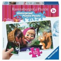 Masza i niedźwiedź. Puzzle 12 (wodoodporne) - zdjęcie zabawki, gry