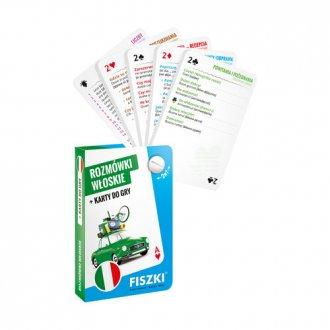 Rozmówki włoskie i karty do gry - okładka podręcznika