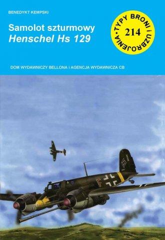 Samolot szturmowy Henschel Hs 129 - okładka książki