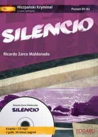Silencio. Hiszpański kryminał z - okładka książki