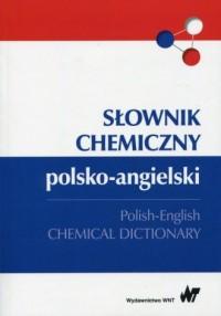 Słownik chemiczny polsko-angielski - okładka książki