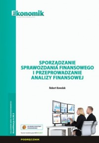 Sporządzanie sprawozdania finansowego - okładka książki