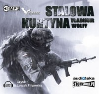 Stalowa kurtyna - Vladimir Wolff - pudełko audiobooku