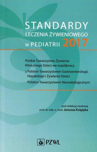 Standardy leczenia żywieniowego - okładka książki