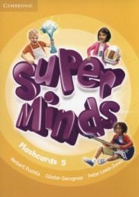 Super Minds Flashcards 5. Pack - okładka podręcznika