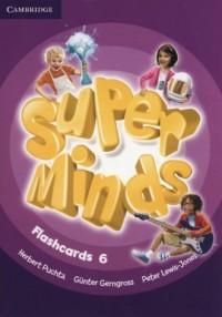 Super Minds Flashcards 6. Pack - okładka podręcznika