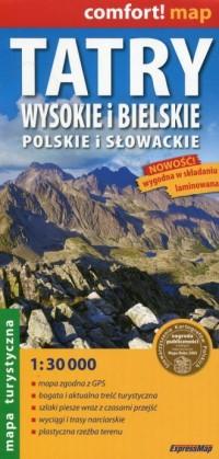 Tatry Wysokie i Bielskie Polskie - okładka książki