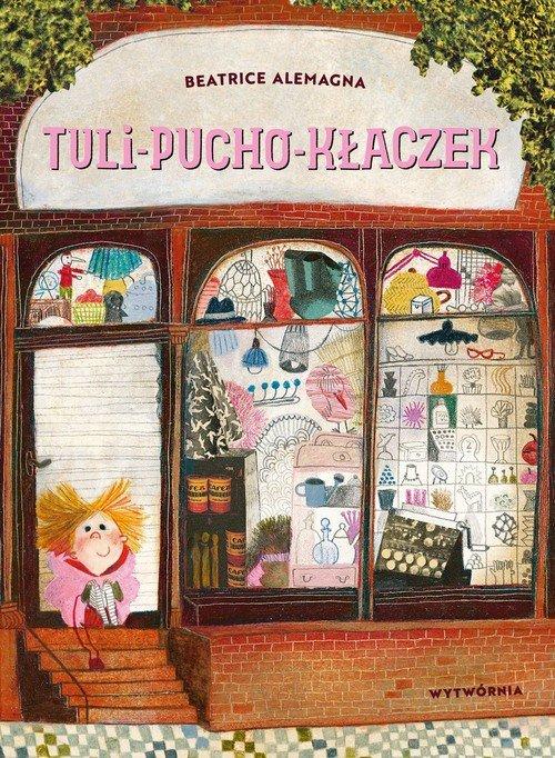 Tuli-pucho-kłaczek - okładka książki