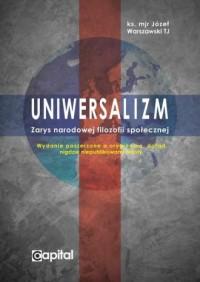 Uniwersalizm. Zarys narodowej filozofii - okładka książki