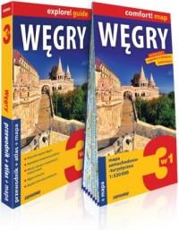 Węgry explore! guide. 3w1: przewodnik - okładka książki