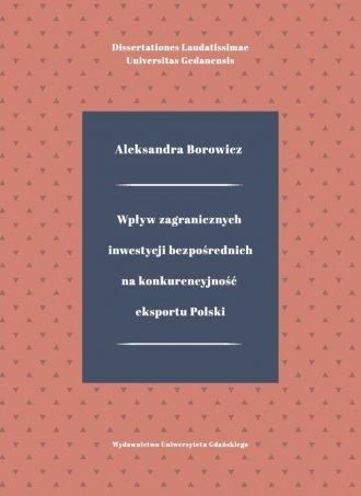 Wpływ zagranicznych inwestycji - okładka książki