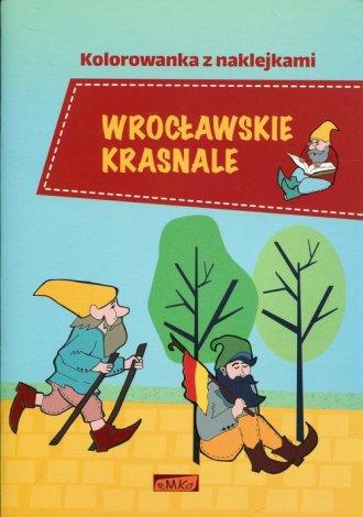 Wrocławskie krasnale. Kolorowanka - okładka książki