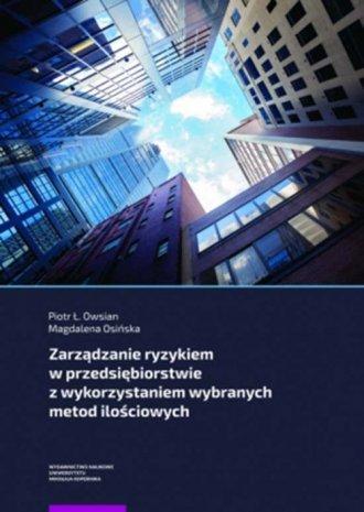 Zarządzanie ryzykiem w przedsiębiorstwie - okładka książki