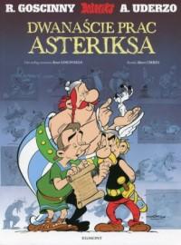 Asteriks. Dwanaście prac Asteriksa - okładka książki