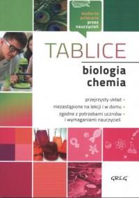 Biologia. Chemia. Tablice - Wydawnictwo - okładka podręcznika